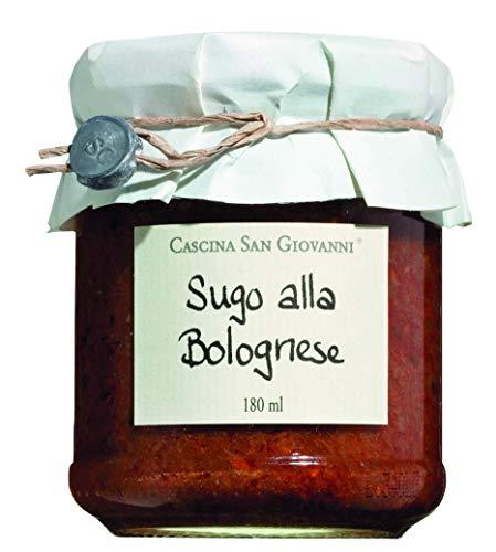Cascina San Giovanni Sugo alla Bolognese, Sauce mit Rindfleisch, 2er Pack (2 x 180 ml)