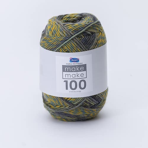 オリムパス製絲 手編み毛糸 メイクメイク100 約100g248m Col.1031