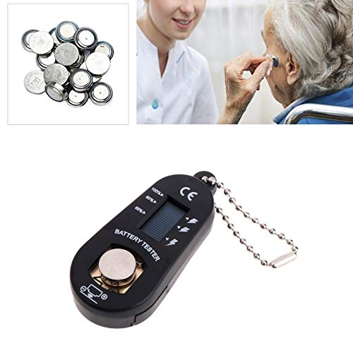 Battery Testers - Universal Hearing Aid Batteries Checker Tester Digital Measuring Devices Electric Lcd Screens Zinc - Battery Digital Batteries Automotive Button Small Cell Testers Best Load