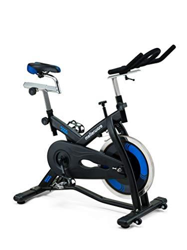 Mellerware - Bicicleta Estática spinning - Resistencia ajustable con Pantalla LCD. Sillín...
