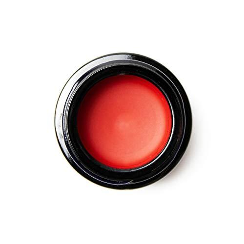 SHAMANIC The Colours, Lip Colour, Dramatic Red #02, 5ml Lippenstift langanhaltend im Tiegel, Lippenfarbe für volle Lippen, vegane Naturkosmetik, Made in Germany