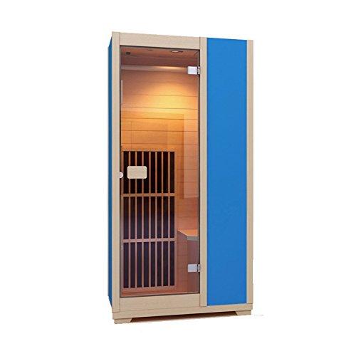 Sauna a Infrarossi Zen Brighton | Cabina modulare a Infrarossi, individuale, sauna viso, Legno Hemlock Canadese