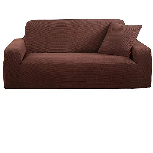 Funda de sofá elástica Universal con Todo Incluido, Fundas de sofá con Estampado Jacquard Grueso, Protector de sofá, Funda de sofá en Forma de L de Esquina para Sala,10,3 Seat 185-230cm