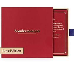Sondermoment Love Edition - Das Fragespiel Für Paare und Verliebte | Tiefgründige Fragen und Challenges rund um Liebe und Sex | Für Deine Freundin oder Freund | Perfekt für Valentinstag