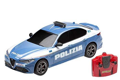 RE.ELTOYS RADIOCOMANDO Auto 1:18 Alfa Giulia Polizia