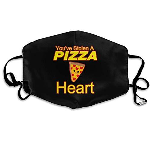 Decoraciones de la Cara You've Stolen Pizza Heart,Mouth
