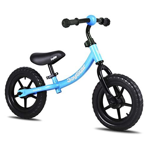 JOYSTAR 12 Inch Kids Balance Bike for Ages 1 2 3 4 5 Years Old Boys, Toddler Push Bike for Children, 12' Kids Glider Bike, Blue
