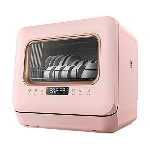 ELXSZJ XTZJ Complete el lavavajillas portátil con un Tanque de Agua Incorporado de 5 litros, 5 programas, Cuidado del bebé, Vidrio y Lavado de Frutas