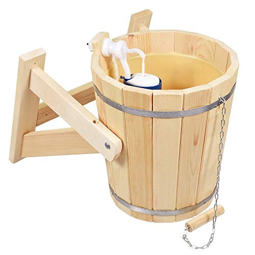 Sauna bath bucket for shower 10 l SPA pool Jacuzzi waterfall