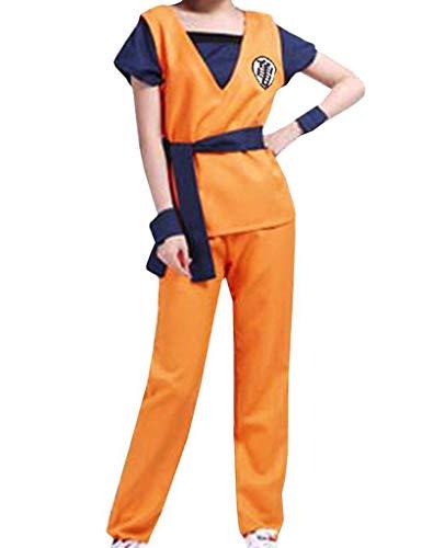 Disfraz Cosplay Dragonball Son Goku Gohan Dragon Ball Super Sayan Logo Kame Kame L (165/173 cm altura)