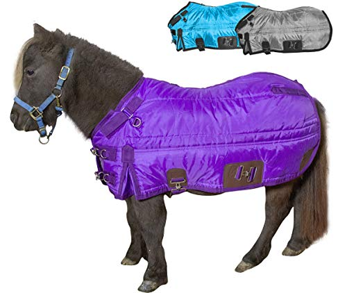 Derby Originals Windstorm 420D Water Resistant Breathable 200G Medium Weight Miniature Horse & Pony West Coast Winter Stable Blanket