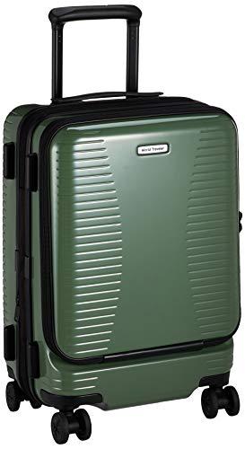 [ワールドトラベラー] スーツケース プリマス エキスパンダブル キャスターストッパー付 機内持ち込み可 35L 3.7kg グリーン