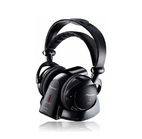 Pioneer SE-DRF41M Schwarz Ohrumschließend Kopfband - Kopfhörer (Ohrumschließend, Kopfband, Kabellos, 15-22000 Hz, 1 m, Schwarz)