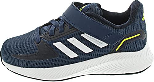 adidas Runfalcon 2.0, Road Running Shoe, Crew Navy/Footwear White/Legend Ink, 33.5 EU