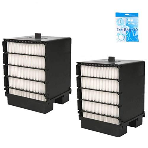 Cooler Filter, Nifogo Air Ersatzfilter, Filter Ersatz,Mini Luftkühler Ventilator Air Mini Cooler Mobil Klimageräte Ersatzteile