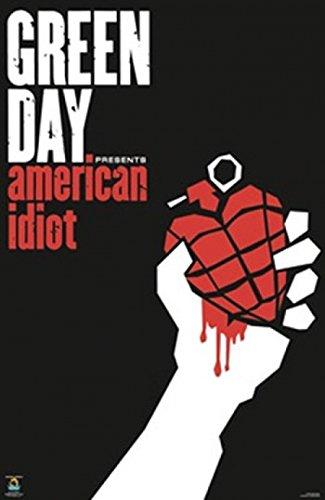 Green Day (CD) Poster Drucken (60,96 x 91,44 cm)