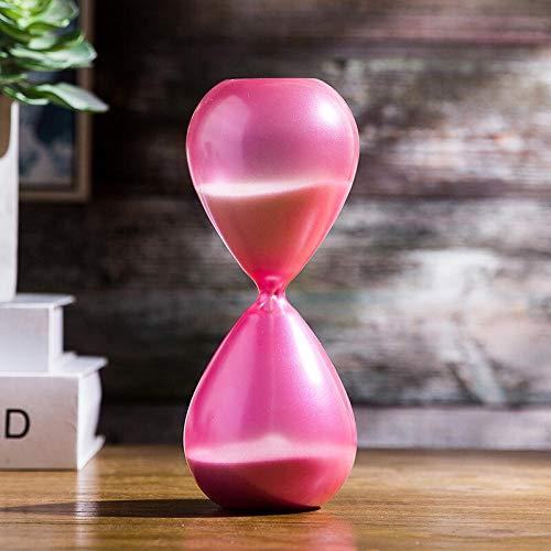 reloj Vitral reloj de arena temporizador-30 minutos en polvo 8 * 20cm cronómetro