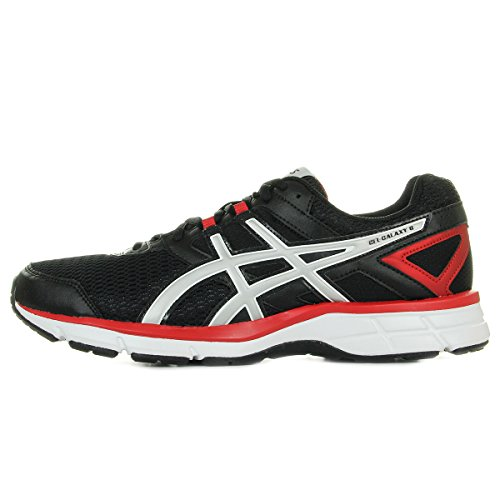 ASICS Gel Galaxy 8 Onyx/Silver/Chinese Red T525N9993, Turnschuhe - 44.5 EU