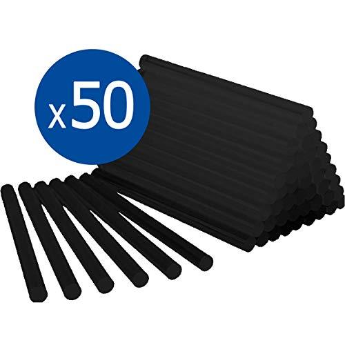 BOLSA 1 KG COLA TERMOFUSIBLE NEGRA - 50 BARRAS silicona