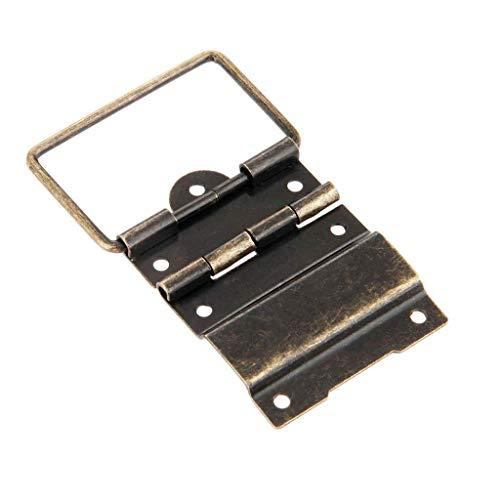 ADSE 2 uds 41 * 52MM Caja bisagras de Soporte de posicionamiento de Caja bisagras de Armario bisagras de Puerta de Muebles bisagras de Caja de cajón Hardware