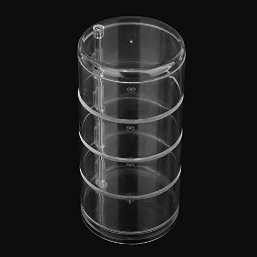 Oumefar Organisateur de Bijoux Transparent Polyvalent Non Toxique en matière Plastique Acrylique pour Bijoux de Stockage