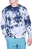 Visive Tie Dye Sweatshirt for Mens & Womens Long Sleeve Pullover 2X-Large