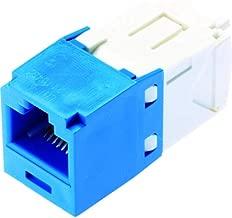 Panduit CJ688TGBU Category-6 8-Wire TG-Style Jack Module, Blue