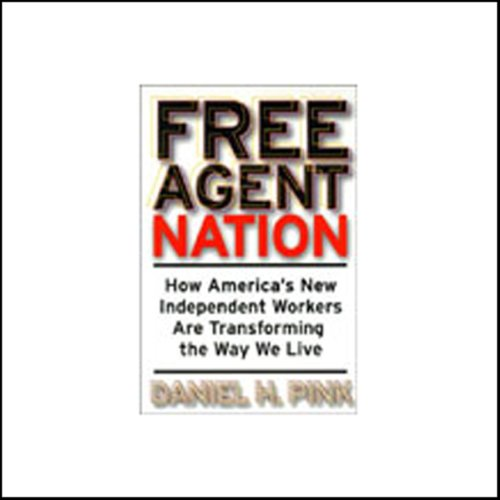 Free Agent Nation audiobook cover art