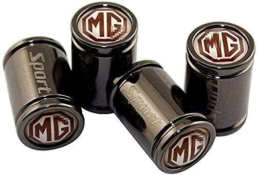 4 Piezas Coche Tapas VáLvulas para MG MG3 MG5 MG6 MG7, Cubiertas A Prueba De Polvo Impermeable Antirrobo Tire Valve,DecoracióN Accesorios