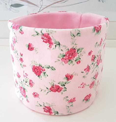 Loop für Hunde rosa-farbener Hundeloop mit Rosen 31/34 Handarbeit Handmade