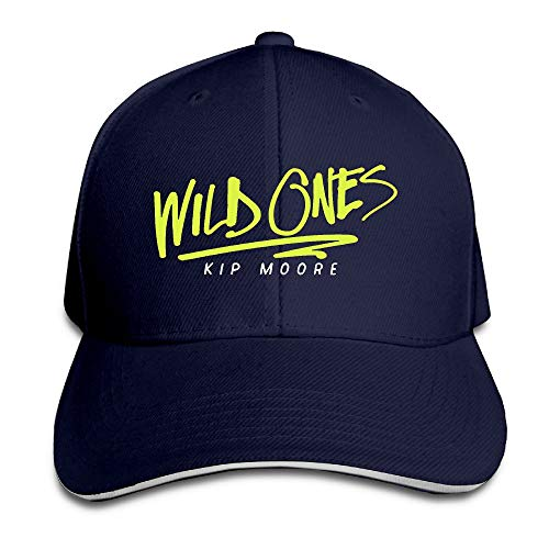 March flowers Wild Ones Kip Moore Country Music Trucker Hat Fitted Sandwich Cap Cap