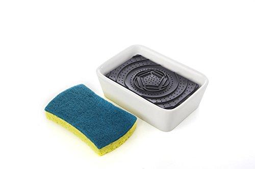 Full Circle Bubble Up Soap Dispenser & Scrubber Sponge Set