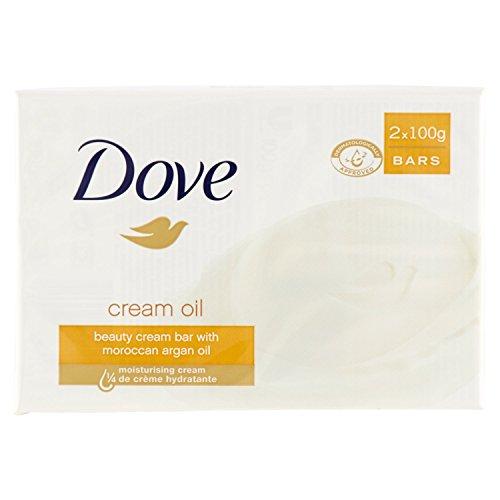 Dove - Seife, Beauty-Reiniger mit 1/4 Feuchtigkeitscreme - 200 g (2 Stück)