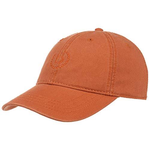 Bugatti Uni Classic Cotton Baseballcap Basecap Baumwollcap Strapback Cap (S/M (55-57 cm) - rost)