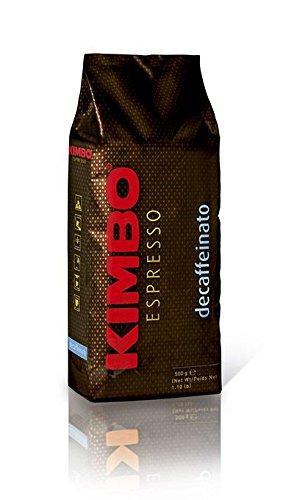 Kimbo - entkoffeinierte Kaffeebohnen - 1x 500g