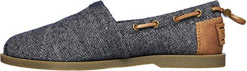 Skechers Bobs from Women's Chill Luxe - Star Social Shoes, Navy, 8.5 M US