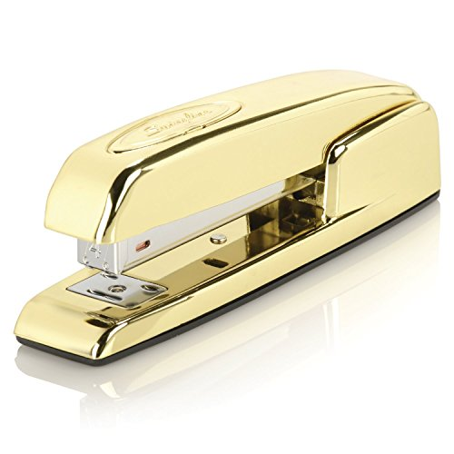 Swingline Stapler, 747, Manual, 25 Sheets Capacity, Business, Desktop, Gold Metallic (S7074721AZ)