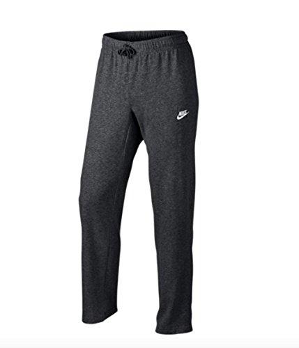 Nike Mens M Nsw Club Pant Oh Jsy Sport Trousers Charcoal HeathrWhite Medium