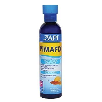 API PIMAFIX Antifungal Freshwater and Saltwater Fish Remedy 8-Ounce Bottle  10H
