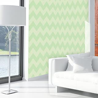 chevron template for wall