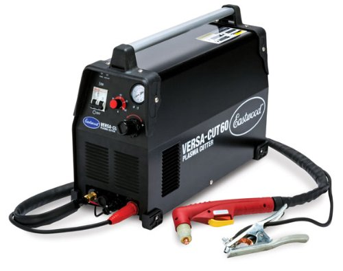 Eastwood Versa Cut 60 Amp Plasma Cutter Nema 6-50R Plug 220V Input Amperage and Air Pressure Setting