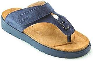Chaussures de confort Tropéa Gibaud Bleu Navy Pointure
