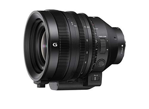 Sony SELC1635G - Obiettivo con zoom Full formato FE C 16-35 mm T3.1 G (serie cinema, grandangolo, obiettivo zoom), colore: Nero