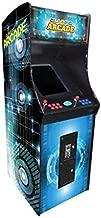Creative Arcades Full-Size Commercial Grade Upright Arcade Machine | Trackball | 3000 Classic Games | 2 Sanwa Joysticks | 2 Stools | 3-Year Warranty