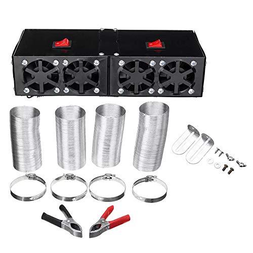 Kupévärmare 1000W 12V / 24V värmefläkt 4 ventiler lastbil fönsterruta defroster rum aggregatet,12v