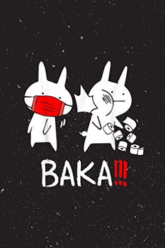 Recipe Journal Notebook | 6 X 9 Inches | Baka! Idiot! Funny Japanese Anime.Pdf