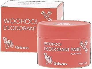 Woohoo Body Urban All Natural Deodorant Paste, 70 Grams