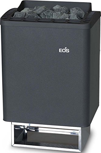 Preisvergleich Produktbild Eos 945690 Eos Saunaofen (Wandausf.) Anthrazit-Perleffek Thermo-Tec 9Kw
