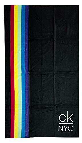 Calvin Klein Toalla de mar Playa Piscina SPA cm. 180x100 Esponja CK Articulo KU0KU00063 Towel
