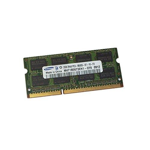 Samsung M471B5673EH1-CF8 – Memoria para pc portátil 2 GB RAM SODIMM, PC3 – 8500S 1066 MHz DDR3